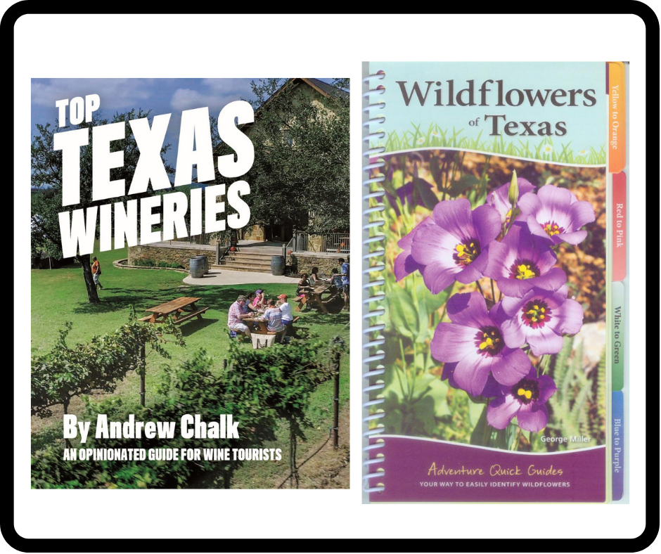 New guidebooks feature Texas wines, wildflowers