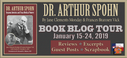Dr. Arthur Spohn Book Blog Tour January 15-24, 2019